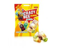 Конфеты Roshen Crazy Bee Gummi Soda Pop желейные 100 г