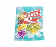 Конфеты Roshen Crazy Bee Gummi Monsters желейные 100 г